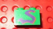 Lego Star Wars Brick 1x2 3004px5 Green Vert du 7171 Mos Espa Podrace
