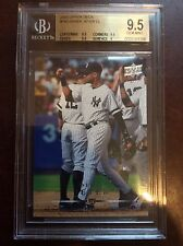 2008 Upper Deck #780 Derek Jeter CL BGS 9.5 GEM MINT New York Yankees Card SP