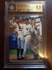 2008 Upper Deck #780 Derek Jeter CL BGS 9.5 GEM MINT New York Yankees Card SP