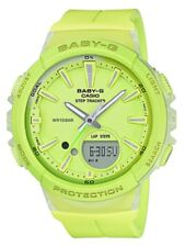 Casio Baby-G * BGS100-9A Runner Anadigi Step Tracker Green Watch COD PayPal