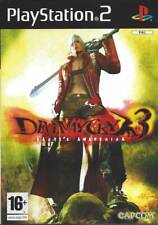 PS2 Devil May Cry 3 Dantes Awakening INCLUDES DEMO MONSTER HUNTER COMPLETE