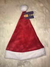 NWT Cherokee Christmas Holiday Santa Claus Baby Hat Unisex Sz 0/3 Months