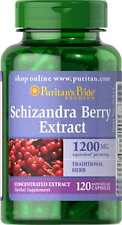 Schizandra Berry Extract 300 mg x 120 Capsules Puritan Pride ** AMAZING PRICE **