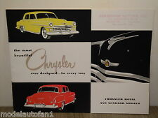Folder/Brochure Chrysler Royal and Windsor Models *4422