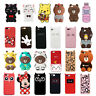 For OPPO iPhone Case Cover 3D Cute Cartoon Animal Soft Silicone Back Skins
