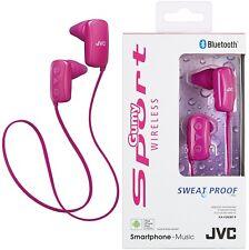 JVC ha-f250bt Rosa Deporte Bluetooth Inalámbrico Internos Auriculares Original /