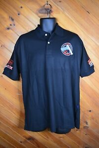 Glock Embroidered Polo Black Mens XL - VGC - Free Postage