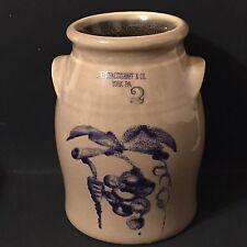 Pfaltzgraff 2003 Bicentennial Collection Mini Crock 2nd In Series COA USA