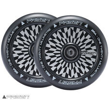 FASEN 120mm HOLLOW CORE OFFSET WHEEL PAIR - Black