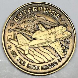 N509      NASA  SPACE  COIN /  MEDAL,      ENTERPRISE,    SHUTTLE  PROTOTYPE