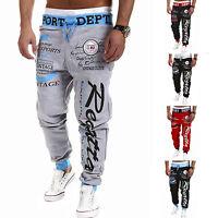 Mens Jogging Bottoms Joggers Tracksuit Casual Active Pants GYM Sports Sweatpants