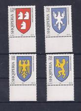 Albania Albanien Albanie 2003 Arms Emblems 2709-12 MNH