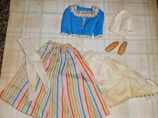 VTG BARBIE IN HOLLAND #0823~TRAVEL SET~APRON~HAT~CLOGS~JAPAN