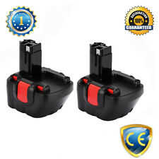 Two 12V Drill Battery for Bosch 2607335709,2607335541,2607335683,2607335675 NiCd