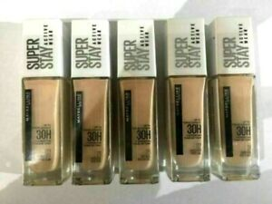 Maybelline Superstay 30H Long Lasting Active Wear Foundation 30ml Sealed