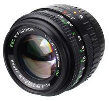 Fuji EBC X-FUJINON 50 mm 1.6 Lens Mount X/AX + Extention Tube X50(Réf#C-127)