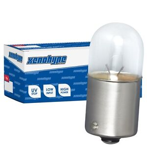 10x R10W XENOHYPE Premium BA15s 12 V 10 Watt Kugellampe