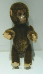 SCHUCO GERMANY MINIATURE YES NO MONKEY - MECHANICAL - 5 INCHES TALL - TIN FACE