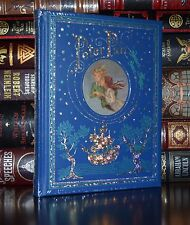 Peter Pan by J. M. Barrie Illustrated Leather Bound New Sealed Collectible Gift