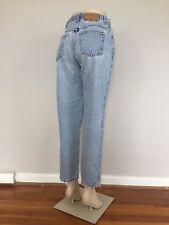 vtg Gitano Light Wash Mom Jeans womens 28.5x28 High Waisted Tapered Hipster 1859