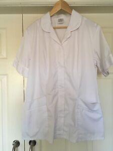 Alexandra SD342 Women's White Nurses, Carers, Vets, Healthcare Tunics Size 16