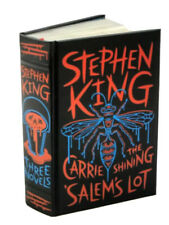 ❤️STEPHEN KING: THREE NOVELS Sealed Leather Bound Collectible Edition