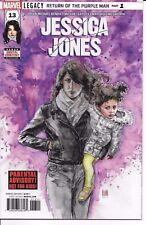 Marvel Comics JESSICA JONES #13 first printing Young Jean Grey Marvel stamp