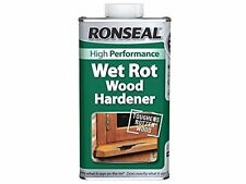 Ronseal WRWH500 500ml Wet Rot Wood Hardener Easy to Use
