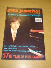 JAZZ JOURNAL INTERNATIONAL VOL 57 #3 2004 MARCH JAN LUNDGREN HANK MOBLEY