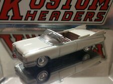 1959 CADILLAC ELDORADO CONVERTIBLE 1/64 SCALE COLLECTIBLE LIMITED EDITION WHITE