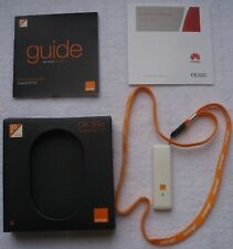 ORANGE Clé 3G+ EDGE HUAWEI E1752 accès mobile à INTERNET depuis votre compte.