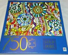 750-piece Gold Dore Puzzle by Hasbo - Tribal Doodle