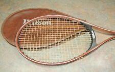 RARE WILSON PRESTIGE Copper Midsize Tennis Racquet Racket Genuine Cover Vintage
