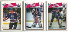 1988-89 O-PEE-CHEE Hockey Edmonton Oilers 13-card Team Set Mark Messier