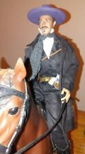 Redman  toys Doc Holida action figure with vintage Johnny West Horse