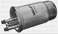 BFF8081 BORG & BECK FUEL FILTER fits Ford Mondeo III 2.0 Di 11/00 -