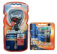 Gillette Fusion ProGlide Power Flexball Rasierer + 6 Klingen als Set / 1 + 6 =7