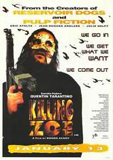 KILLING ZOE Movie POSTER 27x40 B Eric Stoltz Julie Delpy Jean-Hugues Anglade