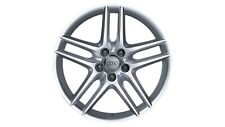 Original Audi A3 8P Aluminium-Felge 5-Doppelspeichen-Design silber 17 Zoll