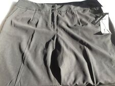 NWT SANDRO WOMEN BLACK DRESS PANTS CROPPED/CAPRI 20W L21
