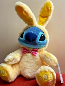 """Disney Stitch Easter Bunny 2021 Medium 16"""" Cuddly Plush Soft Toy"""