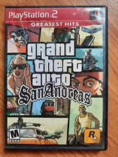 New listing Grand Theft Auto San Andreas - PlayStation 2 Ps2 - Greatest Hits - Tested