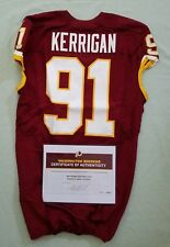 #91 Ryan Kerrigan of Washington Redskins Game Used & Unwashed vs. Giants WCOA