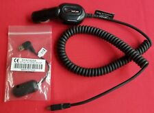 Verizon MOTMINIVPC Car Charger Motorola SYN1505A Mini USB 2.5mm Headset Adapter