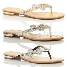 Block Heel Flip Flops Casual Sandals & Beach Shoes for Women