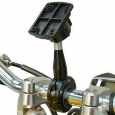 Extendido 9cm Calidad Metal Montura para Manillar de Moto Para Garmin Montana