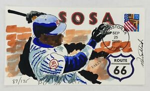 Sosa Route 66 Wild Horse Cachets HP Event Cover 9/25/98