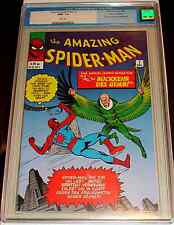 AMAZING SPIDERMAN 7 V 1 CGC 9.6 RARE GERMAN EDITION VARIANT VULTURE 1999 REPRINT
