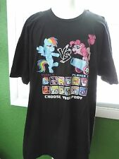 My Little Pony T-Shirt Men's 3XL Choose Your Pony Black Thick Cotton Brony 3X