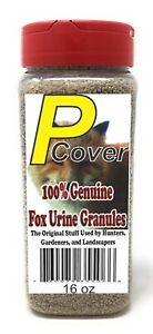 P-Cover Fox Urine Granules. Pest Control for Chipmunks Gopher etc FREE SHIPPING!